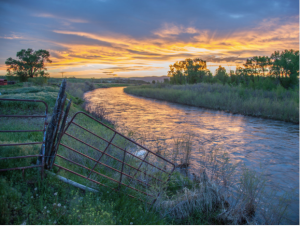 "The Yampa River flows through the Carpenter Ranch. Photo courtesy of John Fielder from his new book, ""Colorado's Yampa River: Free Flowing & Wild from the Flat Tops to the Green."" -- via The Mountain Town News"