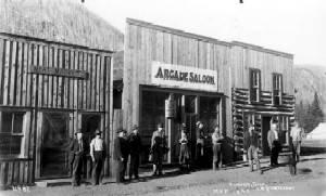 The Arcade Saloon in 1898 Eldora Colorado via WikiPedia