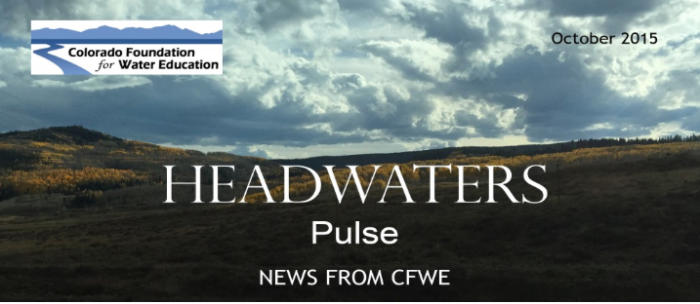 Headwaters Pulse October 2015 cover