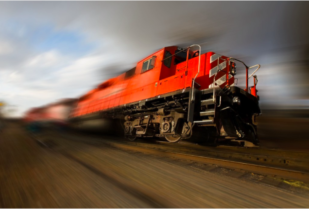 Our global energy system is like a runaway freight train. Image/Shutterstock