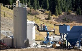 The Environmental Protection Agency's new water-treatment facility at Gold King Mine is expected to begin treating mine runoff on Friday via Steve Lewis/The Durango Herald