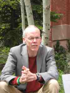 Bill McKibben at an event in Telluride, Colo. Photo/Allen Best