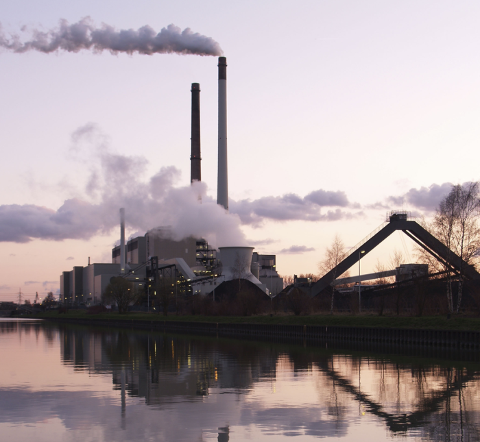 Emissions trading is one example of a market-based solution to an environmental problem. Image credit: Arnold Paul/Gralo via Wikipedia.
