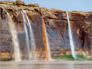Pour offs along the Colorado River. Photo via Brent Gardner-Smith/Aspen journalism