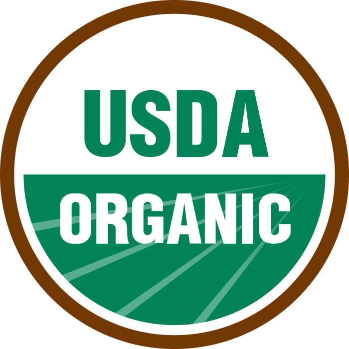 Organic labeling is one such example of using a label to educate consumers.