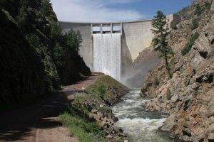 Strontia Springs Dam