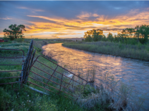"""The Yampa River flows through the Carpenter Ranch. Photo courtesy of John Fielder from his new book, """"Colorado's Yampa River: Free Flowing & Wild from the Flat Tops to the Green."""""""