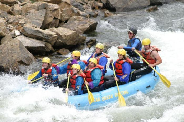 Clear Creek rafting via MyColoradoLife.com
