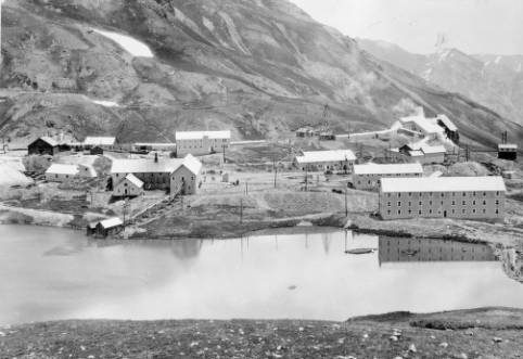 General view of the Sunnyside Mine, southwestern Colorado photo via the Denver Public Library