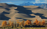 Sandy: This shot of the Great Sand Dunes National Park in southern Colorado is another which came out on top in the crop of 2015 images