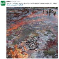 Photo via the @USGS Twitter feed