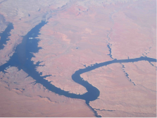The Colorado River wends its way through southern Utah and, at Glen Canyon, is impounded into Lake Powell. Photo/Allen Best