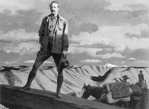 Gifford Pinchot portrait via the Forest History Society