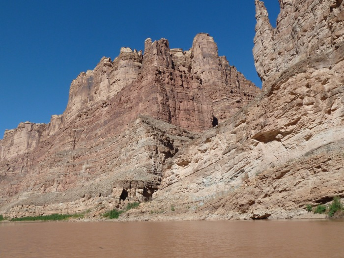 The Colorado River in Cataract Canyon, just above Lake Powell, where water officials are keeping a close eye on water levels. Photo: Brent Gardner-Smith/Aspen Journalism