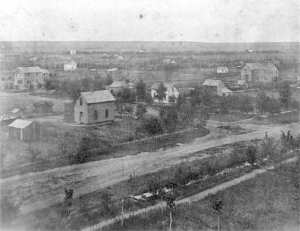 Greeley in 1870 via the Greeley Historical Society and the Denver Public Library