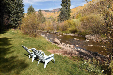 Riparian areas were crowded or completely eliminated as the town was developed. In this, Vail is hardly alone. Photo by Jack Affleck via The Mountain Town News.