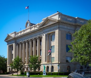 Weld County courthouse via Wikipedia