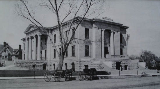 Colorado Springs City Hall back in the day via the City of Colorado Springs.