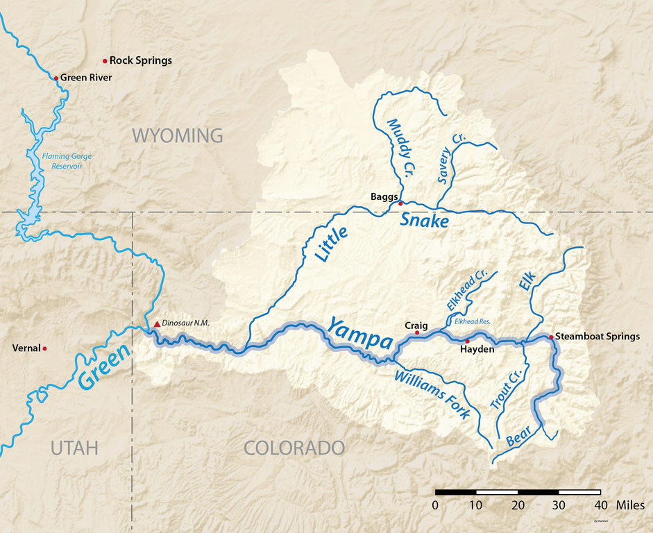 snake river colorado map Little Snake River Coyote Gulch