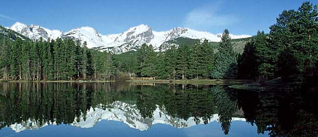 Sprague Lake via Rocky Mountain National Park.