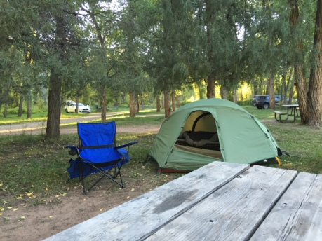 Dolores River Campground September 2016.