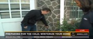 John Gebhart, Denver Water Conservation technician, showed 9News viewers how to protect exposed outdoor pipes and nozzles from freezing this winter.
