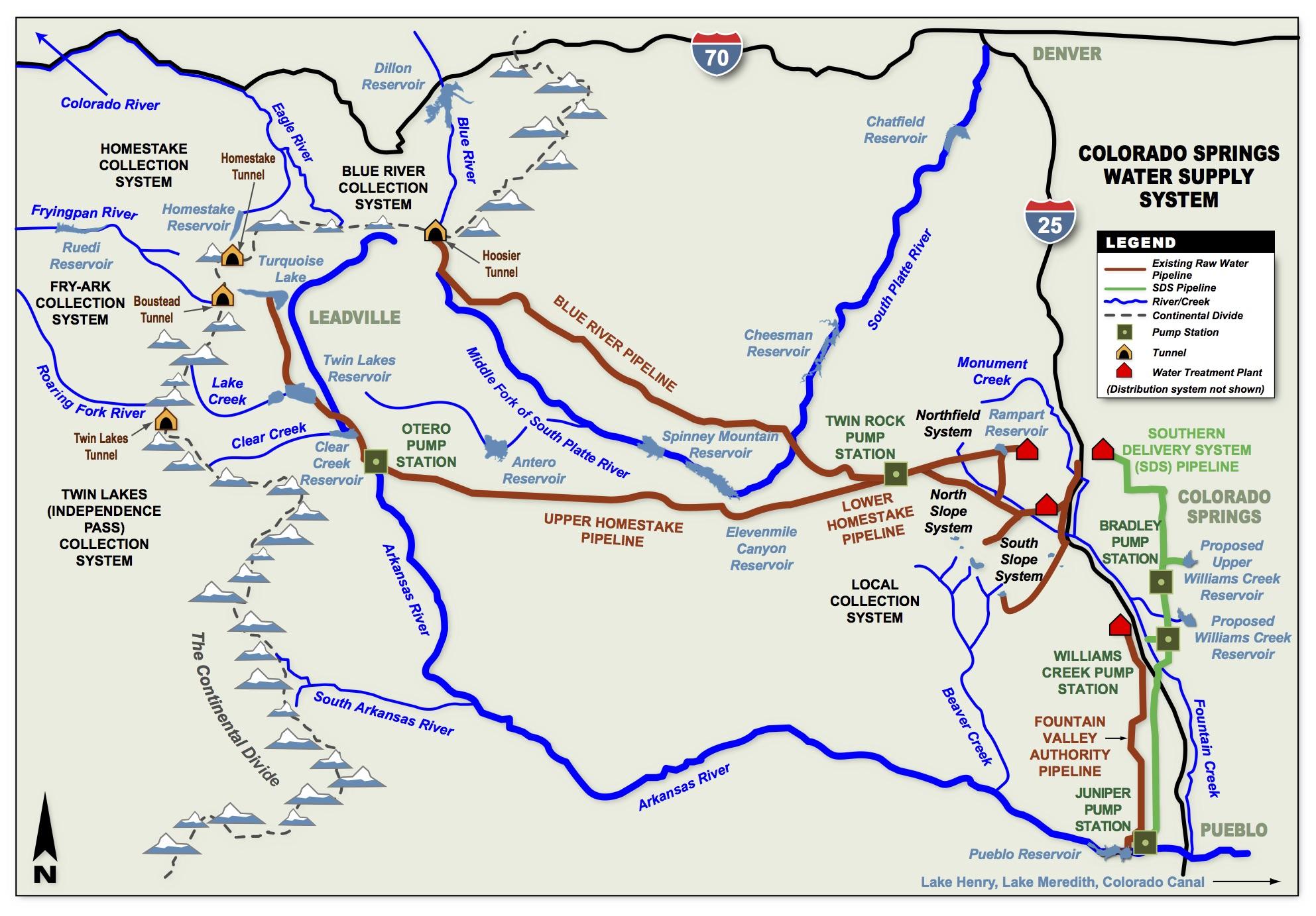 Colorado Springs Utilities Coyote Gulch