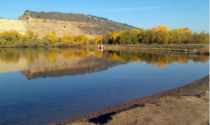 Dixon Reservoir dam photo via Gauthiere Engineering.