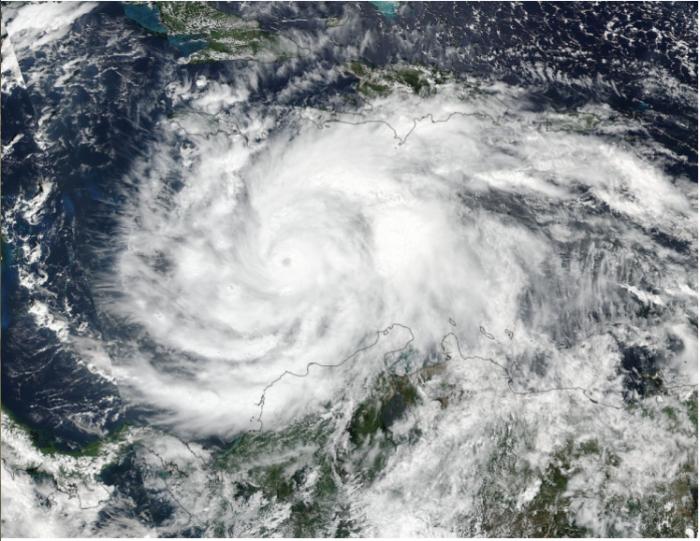 Hurricane Matthew SE of Florida October 5, 2016. Photo credit NASA (via The Washington Post).