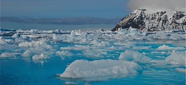 Yes, there is still lots of ice in Antarctica, but it's melting faster than ever. bberwyn photo.
