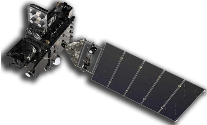 Since launch on Saturday, November 19, GOES-R has transitioned to the 'orbit raising' phase of the mission and is making its way to geostationary orbit. The spacecraft is currently positioned in a sun-point attitude, which allows its solar array to harness the sun's power. The GOES-R team has performed the first liquid apogee engine (LAE) burn without anomaly. This engine burn is part of a series of LAEs that will help position GOES-R in geostationary orbit. The next major milestone will be the second stage deployment of GOES-R's solar array, which is currently scheduled to occur on November 30, 2016.
