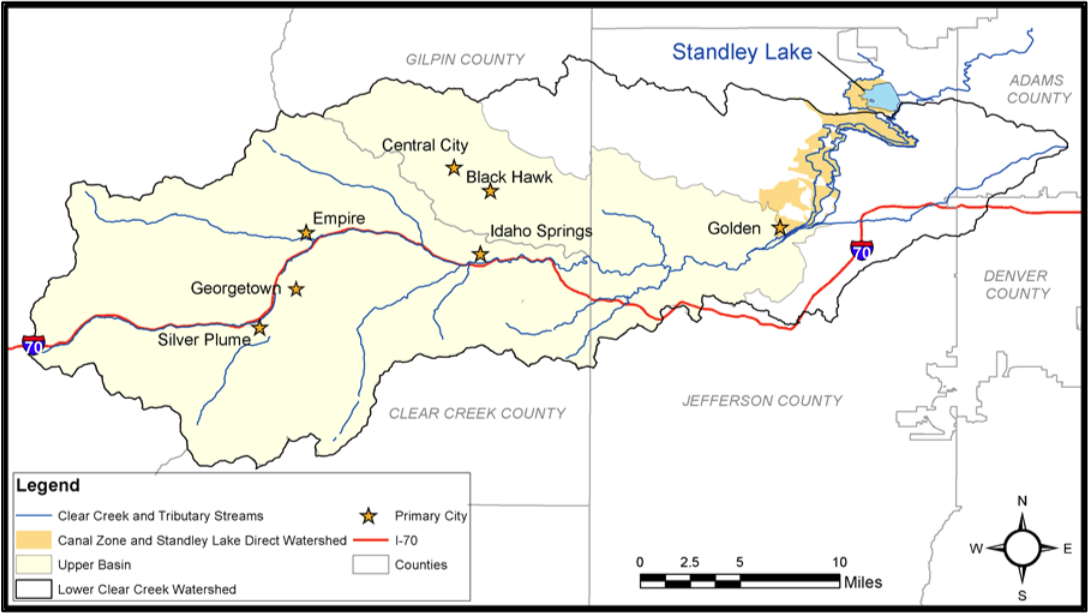 Clear Creek Watershed | Coyote Gulch