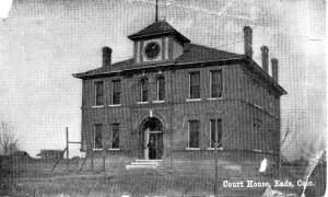 Kiowa County Courthouse, Eads, Colorado, 1903 via wikimedia.