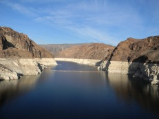Lake Mead from Hoover Dam December 13, 2016.