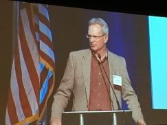 Travis Smith recipient of the 2017 Aspinall Award.