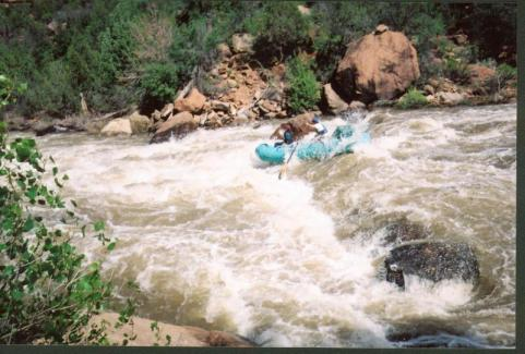 Ponderosa Gorge, Dolores River. Photo credit RiverSearch.com.