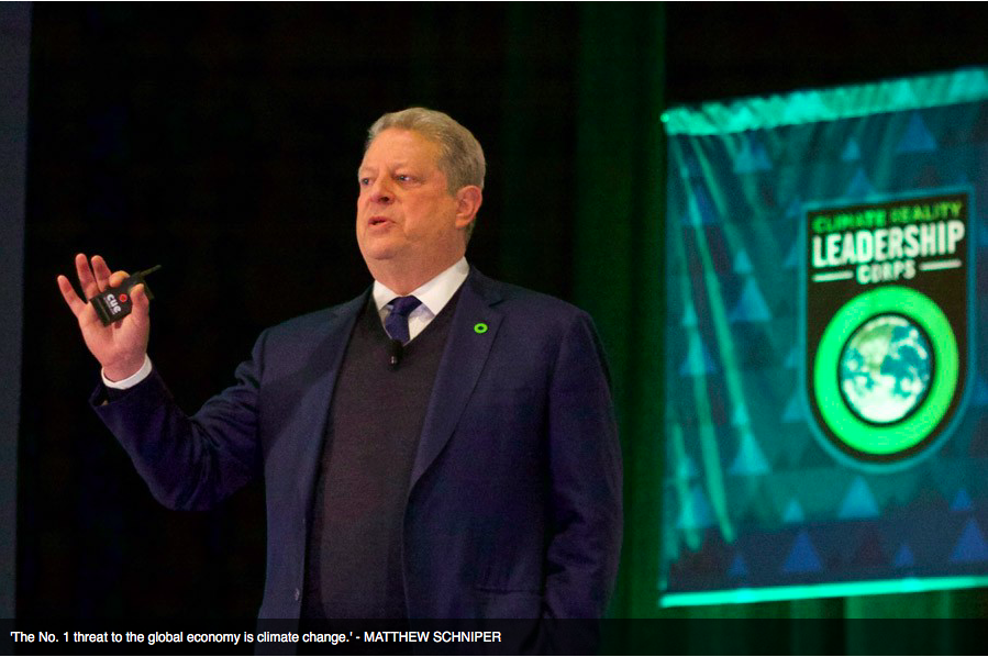 al gore climate of denial Al gore warns that trump is a  in 2007 for his work on climate change claire harbage/npr  a role in the denial of climate.