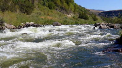 Rodeo Rapid, on the upper Colorado River. Photo credit: Brent Gardner-Smith Aspen Journalism