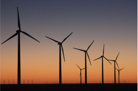 Colorado Green, located between Springfield and Lamar, was Colorado's first, large wind farm. Photo/Allen Best