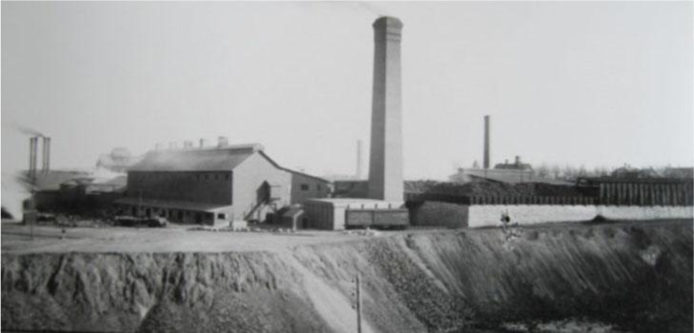 One of the many smelters that once operated in the Pueblo area. Photo credit: Environmental Protection Agency