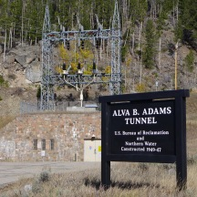 Entrance to the Colorado-Big Thompson project. Photo: Brent Gardner-Smith/Aspen Journalism