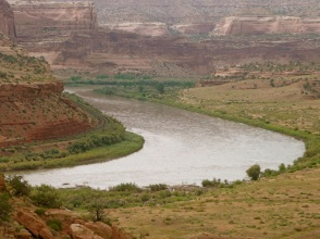 The Colorado River, between Loma and Westwater. Photo: Brent Gardner-Smith/Aspen Journalism