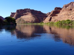 The blues. On the Green River. Photo: Brent Gardner-Smith/Aspen Journalism