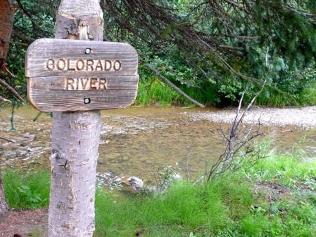 "Colorado River ""Beginnings"". Photo: Brent Gardner-Smith/Aspen Journalism"