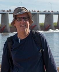 John Fleck at Morelos Dam