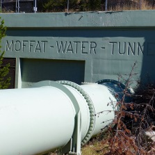 The Moffat Tunnel, heading east. Photo: Brent Gardner-Smith/Aspen Journalism