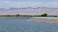 "The new ""re-regulating"" reservoir in the service area of the Orchard Mesa Irrigation District, which helps the district manage water deliveries more effectively. Photo: Brent Gardner-Smith/Aspen Journalism"