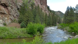 The upper South Platte River, above the confluence with the North Fork of the South Platte. Photo: Brent Gardner-Smith/Aspen Journalism