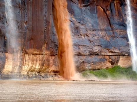 Waterfalls on the Green River. Photo: Brent Gardner-Smith/Aspen Journalism
