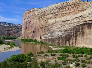 At the confluence of the Yampa and Green rivers. Photo: Brent Gardner-Smith/Aspen Journalism